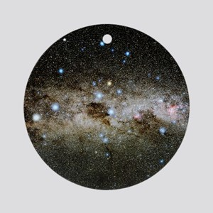 Crux constellation Round Ornament