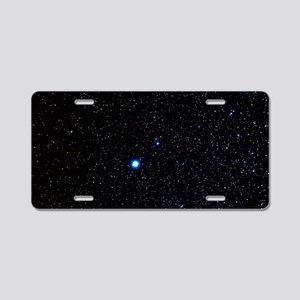 Constellation of Canis Mino Aluminum License Plate