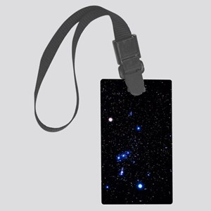 Constellation of Orion with halo Large Luggage Tag