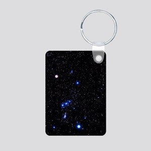 Constellation of Orion wit Aluminum Photo Keychain