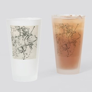 Death on horseback Drinking Glass