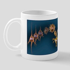 Creating new neural pathways, artwork Mug