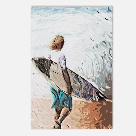 surfer dude Postcards (Package of 8)