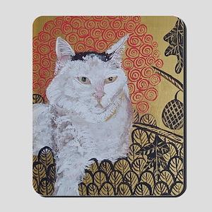 5x7 Klimt Cat Mousepad