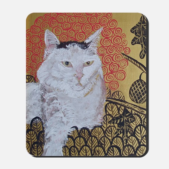 5x7 Klimt Cat Mousepad