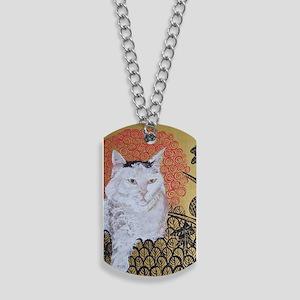 5x7 Klimt Cat Dog Tags