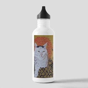 5x7 Klimt Cat Stainless Water Bottle 1.0L