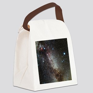 Cygnus and Lyra constellations Canvas Lunch Bag