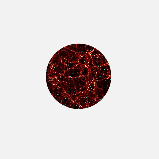 Dark matter map Mini Button