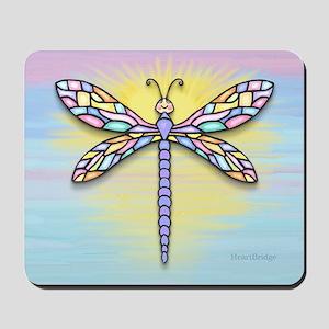 MP-Dragonfly1B-pastel-Sun-rec Mousepad