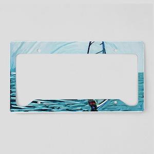 windsurf License Plate Holder