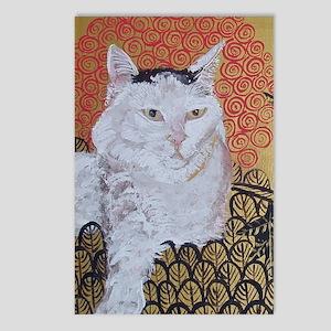 Journal Klimt Cat Postcards (Package of 8)