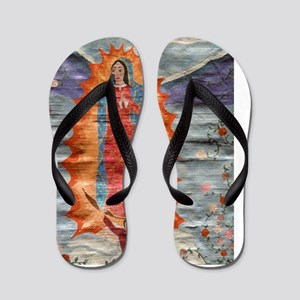 Our Lady of Guadalupe (Papyrus) Flip Flops