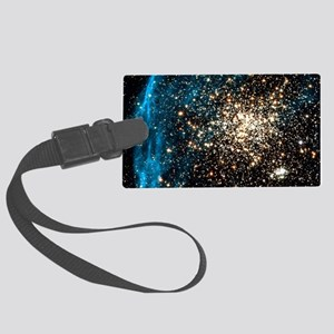 Double star cluster Large Luggage Tag