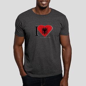 I love Albania Dark T-Shirt