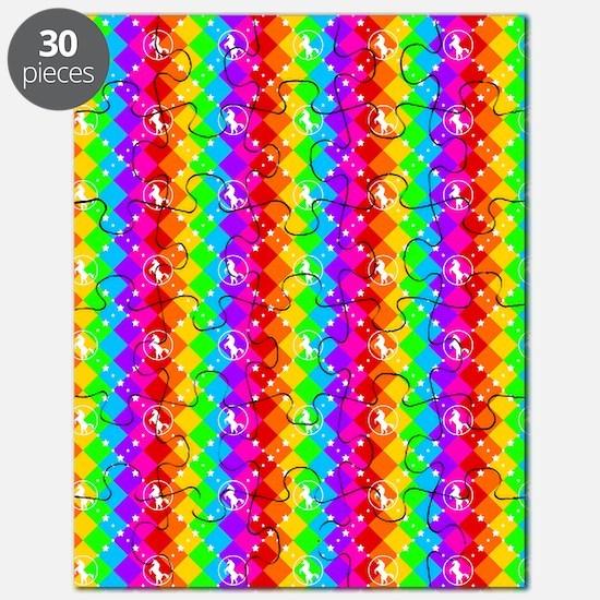 Rainbow Unicorn 01 Puzzle