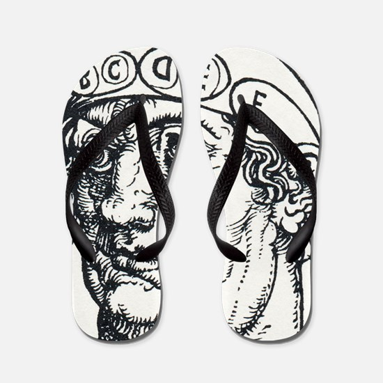 Early phrenology Flip Flops