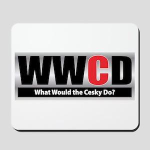WW the Cesky D Mousepad