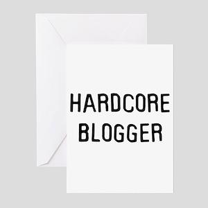 Hardcore blogger Greeting Cards (Pk of 10)