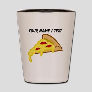 Custom Pizza Slice Shot Glass