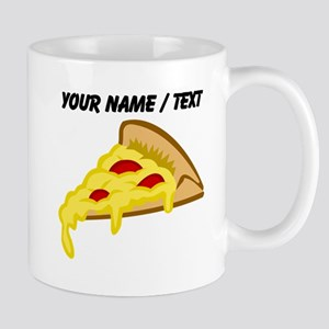 Custom Pizza Slice Mugs