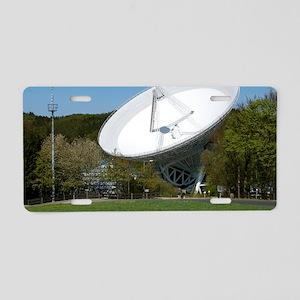Effelsberg radio telescope Aluminum License Plate