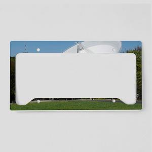 Effelsberg radio telescope License Plate Holder