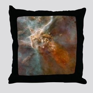 Eta Carinae nebula, HST image Throw Pillow