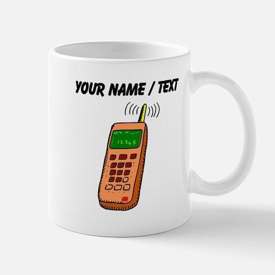 Custom Cartoon Cell Phone Mugs