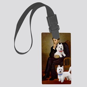 Lincoln-2Westies-Star/David Large Luggage Tag