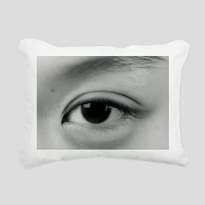 Eye Rectangular Canvas Pillow
