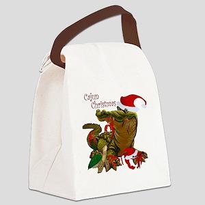 Cajun Christmas Canvas Lunch Bag