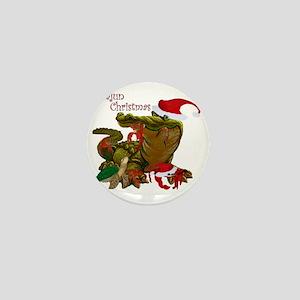 Cajun Christmas Mini Button