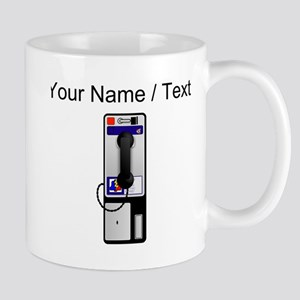 Custom Pay Phone Mugs