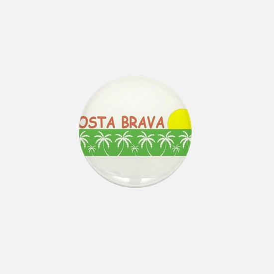 Costa Brava, Spain Mini Button