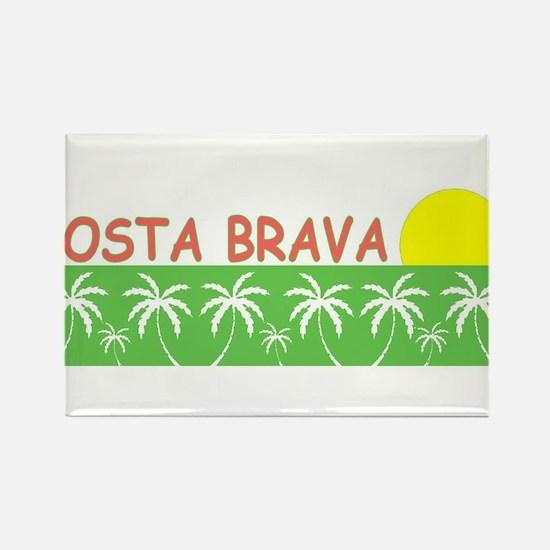 Costa Brava, Spain Rectangle Magnet
