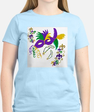 Mardi Gras mask Women's Light T-Shirt