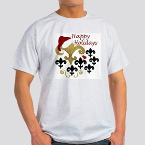 Santa Fleur de lis party Light T-Shirt