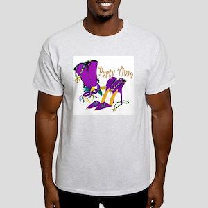 Party Time purple high heels Light T-Shirt