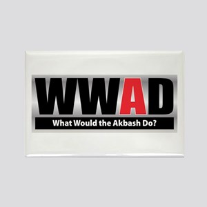 WW the Akbash D Rectangle Magnet