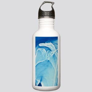 False-colour X-ray of  Stainless Water Bottle 1.0L