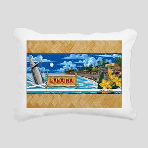 Lahaina, Mauis Famous Fr Rectangular Canvas Pillow