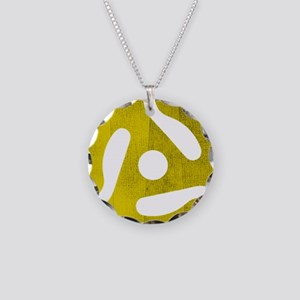 rpm Necklace Circle Charm