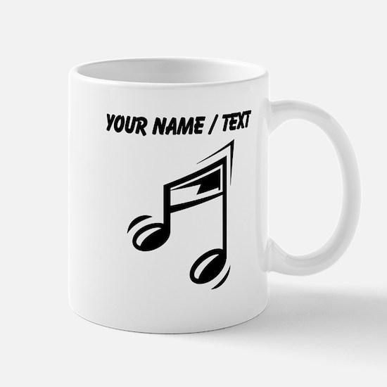 Custom Eighth Note Mugs