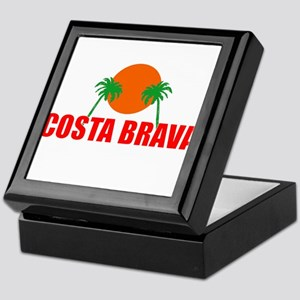 Costa Brava, Spain Keepsake Box