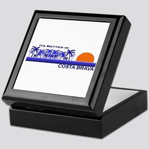 Its Better in Costa Brava, Sp Keepsake Box