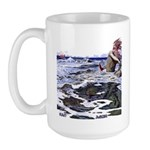Ægir and Ran Large Mug
