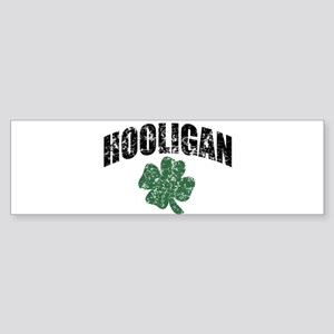 Hooligan Distressed Bumper Sticker