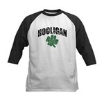 Hooligan Distressed Kids Baseball Jersey