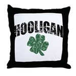 Hooligan Distressed Throw Pillow